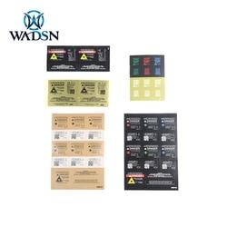 WADSN Tactical PEQ LA-5C Laser Sight DBAL-A2 Sticker Hunting Rifle PEQ 15 Airsoft Laser Indicator Sticker 3 Version