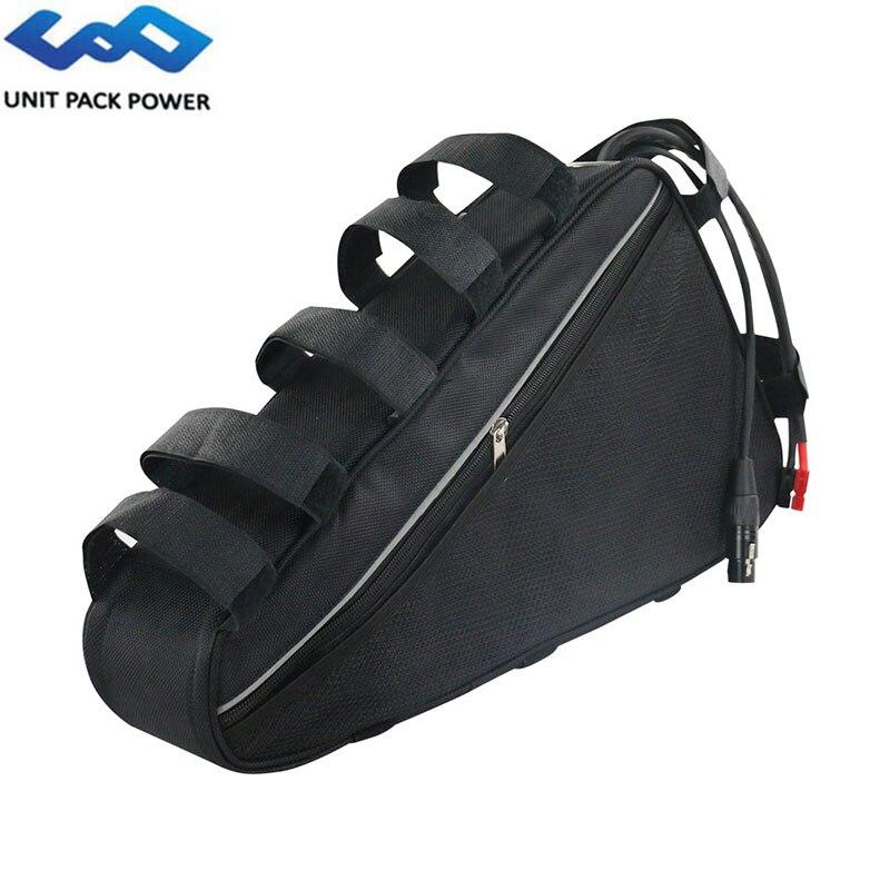 Треугольная сумка для электровелосипеда, аккумулятор 52 в, 48 В, 20 А/ч, литий ионные аккумуляторы для электровелосипеда 48 В, 52 в, 1800 Вт, 750 Вт, 1000 В