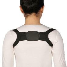 Unissex invisível volta ombro postura corrector orthotic coluna suporte cinto novo