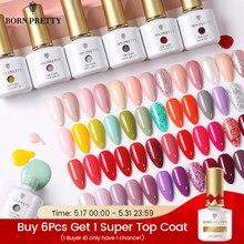 BORN PRETTY-esmalte de Gel para uñas, Serie de uñas de colores, UV, para todas las uñas, 7ml, 88 colores