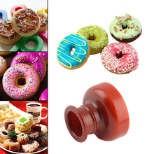 DIY 4 Style Plastic Doughnut Cake Maker Mold Home Party Desserts Cutter Fondant Cutting Donut Mould Pastry Dough Process Tools cheap Moulds CE EU Cake Tools Eco-Friendly Silicone Donut cake mould baking mold bake tools for cakes baking tools kitchen accessories