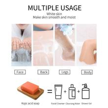 Kojic Acid Whitening Soap Gentle Cleansing Of Pores Handmade Natural And Brightening Products Complexion Improving Bodycare D5Q6