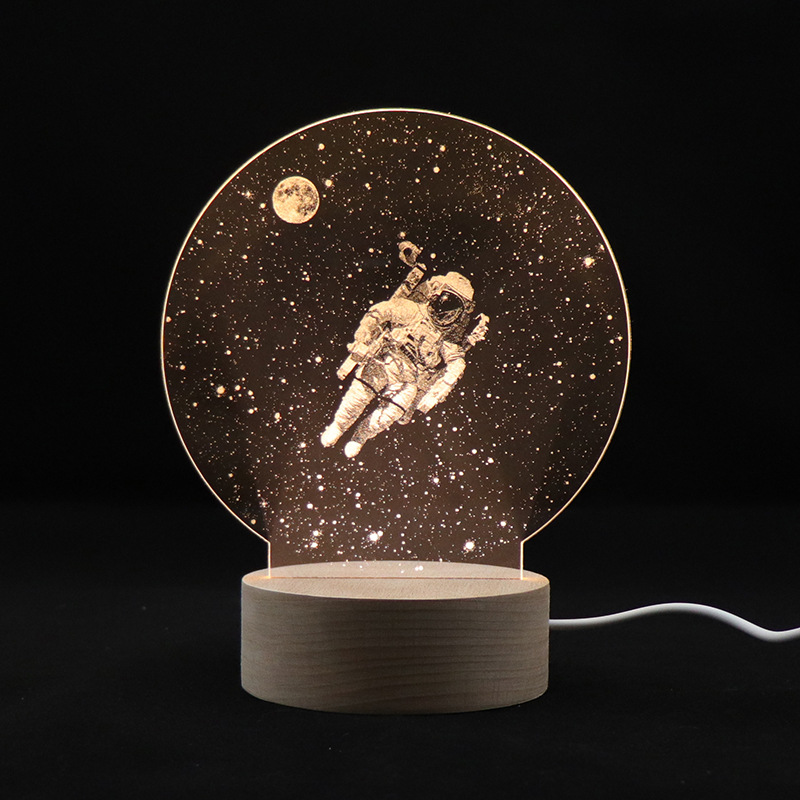 Lámpara de noche 3D, nuevo, Dropship, astronauta, cielo estrellado, luz de noche, 2019 Envío Gratis 100% nuevo original K6X4016C3F-UF55 K6X4016C3F-UF K6X4016C3F TSOP44