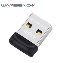 Wansenda Mini USB-Sticks 4GB 8GB 16GB 32GB 64GB USB 2,0 Tiny Pen Drive thumbdrive Pendrives Cle USB Memory Stick