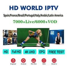 Premium HD World IPTV Spain M3U XXX Italy Dutch France Portugal Germany UK For Android  TV Smart IPTV Subscription Xtream Codes iptv m3u enigma2 iptv germany spain italy uk france belgium mediaset premium apk for android smart tv germany iptv apk