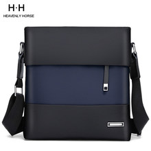 Bolso de hombro casual de negocios de Nylon repelente al agua para hombres 10,1 pulgadas Tablet Messenger bag Everday Travel Backpage(China)