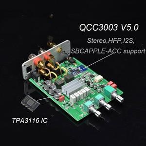 Image 5 - Lusya QCC3003 Bluetooth 5.0 HiFi מגבר כוח 50W * 2 סטריאו TPA3116 בית אודיו Amp עם טרבל בס התאמה i4 005 6