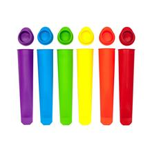 6PCS Silicone Ice Stick Molds Form for Ice Cream Maker DIY Summer Ice Cream Mold Kitchen Tools Popsicle Maker Lolly Mould New silicone ice stick molds form for ice cream maker diy summer frozen ice cream mold kitchen tools popsicle maker lolly mould new