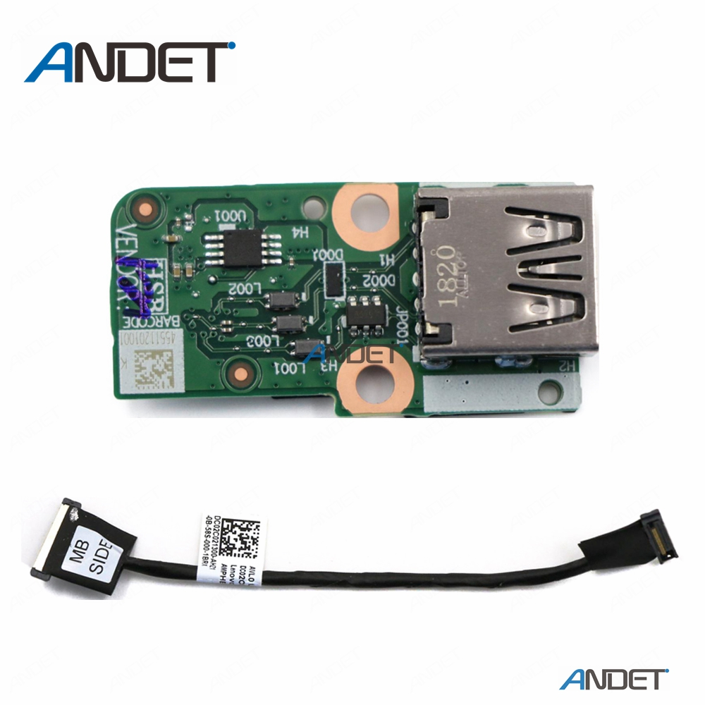 Original For Lenovo ThinkPad T450 USB Port Sub Card Subcard Board Connecting Cable 00HN553 00HN554 00HN696 DC02C021300 NS-A251