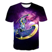 3D printed T-shirt children's wild casual O-neck male t-shirt Pokémon short sleeve funny T-shirt 2020 summer street style new women fashion letter printed colorful striped short sleeve t shirt female summer sexy crop top korean o neck casual t shirt
