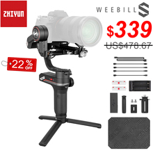 Zhiyun Weebill S Draagbare 3 Axis Handheld Gimbal Stabilizer Oled scherm Voor Canon Eos R A7III A7M3 Z6 Z7 s1 Mirrorless Camera S