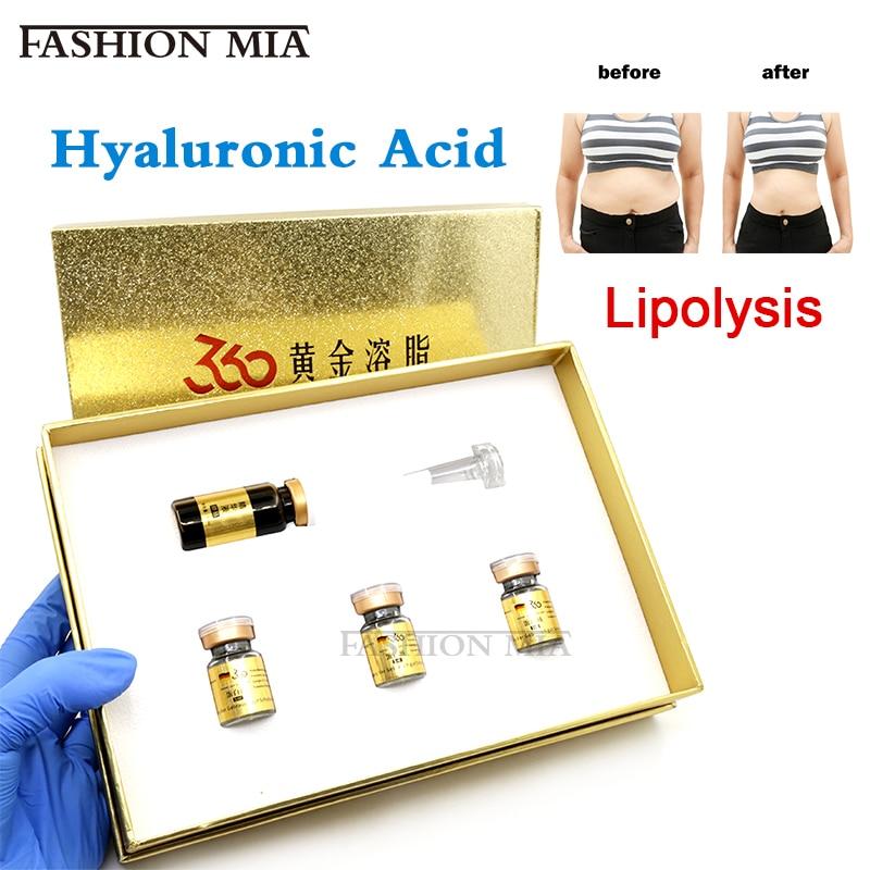 German Lipolysis Lipid Solution 5ml Body Liposuction Lipolytic Bye Bye Fat Weightloss Use For Mesotherapy Hyaluron Pen Injection
