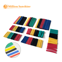 164PCS Set Heat shrink tube kit Insulation Sleeving termoretractil Polyolefin Shrinking Assorted Heat Shrink Tubing Wire Cable