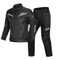 LYSCHY 2020 Summer Motorcycle Jacket Men's Breathable Chaqueta Moto Jacket Mesh Riding Jacket Motorcycle With Removable Protect