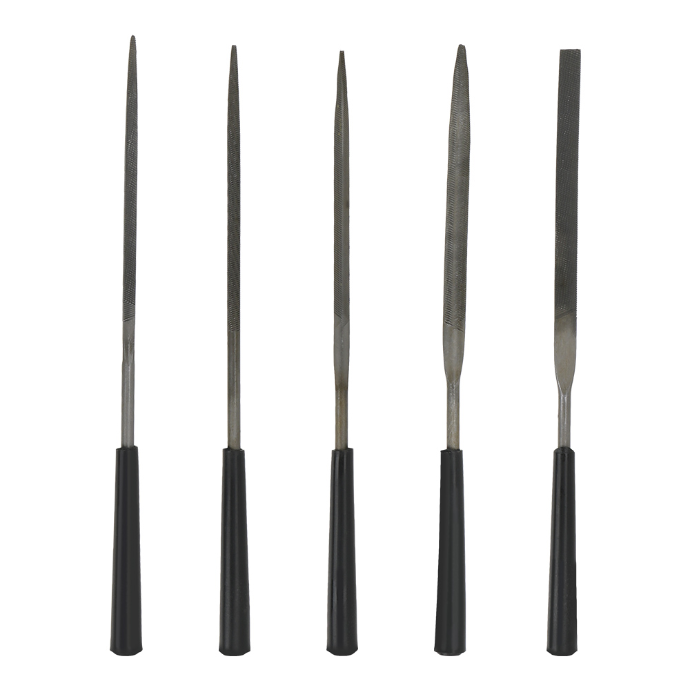 5pcs Repair Tool For Metal Glass Stone Jewelry Wood Carving Craft Tool Hand File Tool Assorted Rasp Diamond Needle File Set