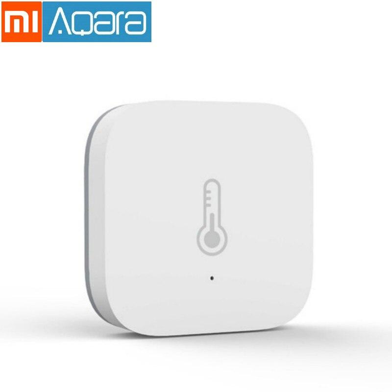 Original Xiaomi mi Smart home Aqara temperature sensor intelligent barometric humidity environment sensor is suitable mijia app