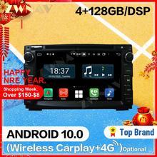 128G Carplay Android 10 screen Car Player for KIA Ceed 2006 2007 2008 2009 2010 2011 2012 2013 BT GPS Auto Radio Audio Head unit