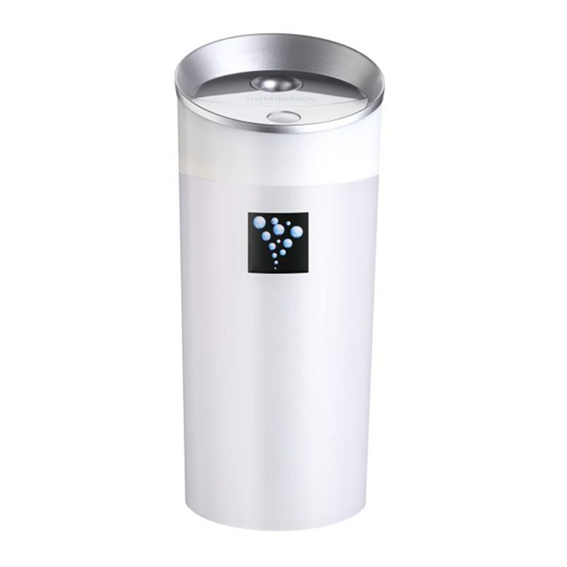 300ML Ultrasonic Humidifier USB Car Humidifier Mini Aroma ESSential Oil Diffuser Aromatherapy Mist Maker Home Office:White image