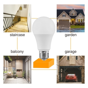 Image 5 - LED Sensor Light 7W 9W 12W E27 โคมไฟเหนี่ยวนำLED 110V 220Vหลอดไฟสีขาวlampadaสำหรับแสงในร่มBombillas