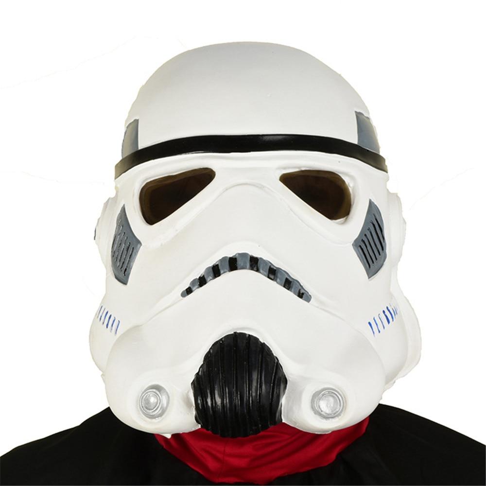 Star Wars Imperial Stormtrooper Cosplay Latex Mask Halloween Party Helmet Props