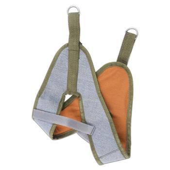 Trakcja szyjna płótno trakcja szyjna pas trakcyjny Sling Tractor rozciągliwe na krzesło pogrubienie kaptur pielęgnacja skóry szyi narzędzie Home Medical tanie i dobre opinie SALORIE CN (pochodzenie) B01-1