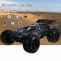 JLB Racing 21101 1:10 4WD RC Brushless Off-road Truck RTR 80 - 100km/h / 3670 2500KV Brushless Motor Wheelie Function Climb Cars