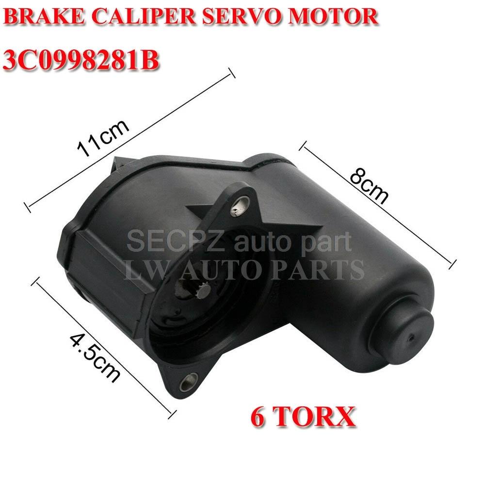 4F0 998 281B 12 Teeth 12 Torx Electronic Parking Break Motor For Audi A4 A5 Q5