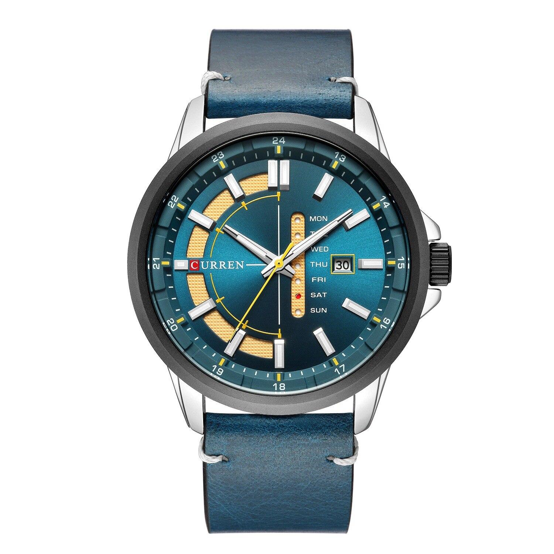 Luxury Watch Quartz-Clock Date Sport Top-Brand Reloj Hombre Men Fashion Curren Mens Week