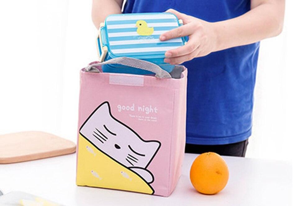 saco de almoço lona à prova dwaterproof