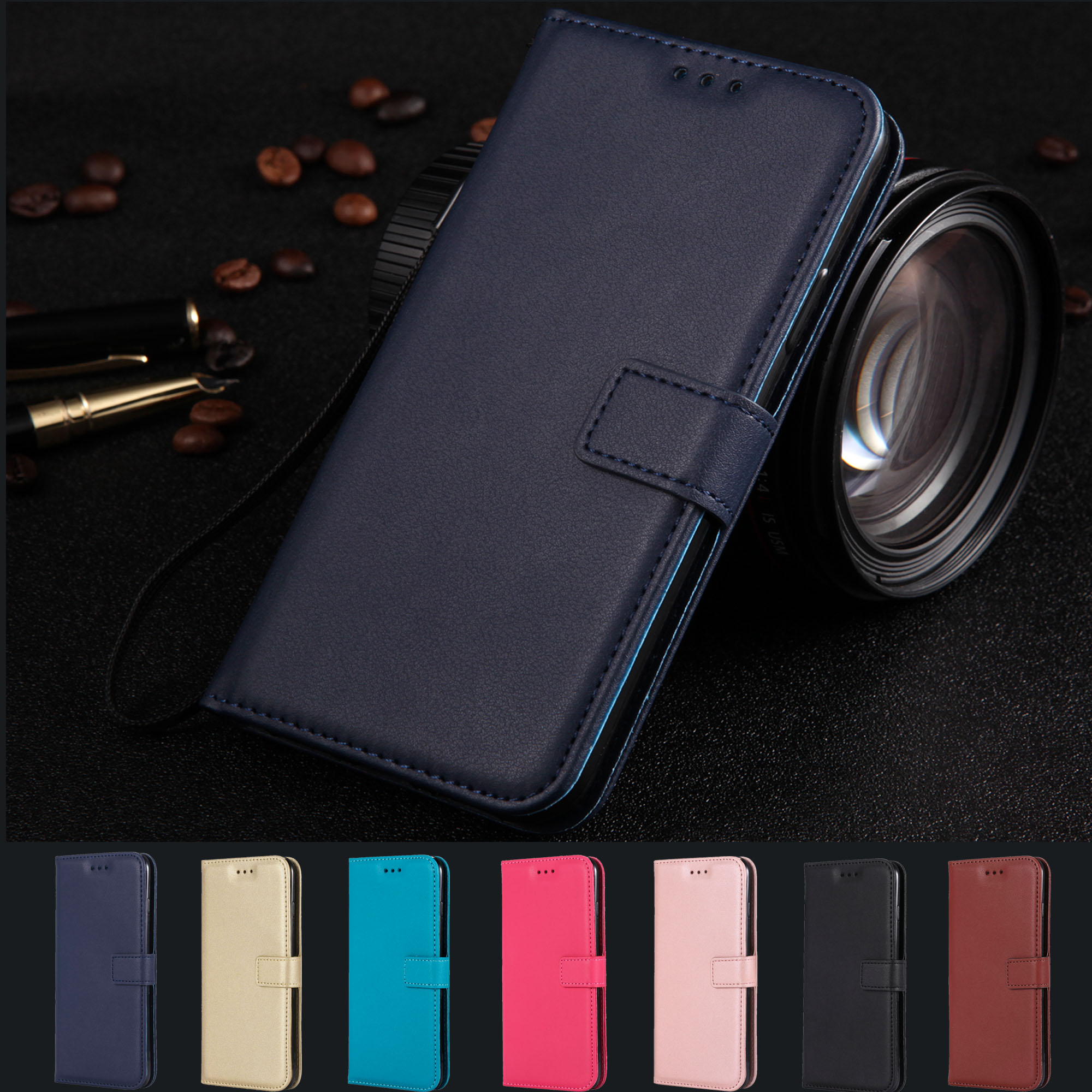 Leather case for Nokia 5 6 3 8 9 cases coque <font><b>TA</b></font> <font><b>1053</b></font> 1003 1032 1012 capa for Nokia N3310 N635 N630 N640 Shell Luxury Flip cover image