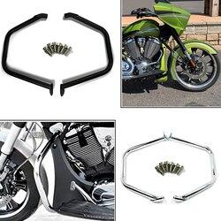 Moto moteur garde autoroute Crash Bar cascadeur Cage pare-chocs protecteur pour la victoire Cross Country Tour croix routes Magnum 2010-17
