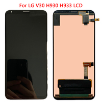 6.1''H933 Display For LG V30 H930 H930DS LCD Display Touch Screen With Frame For LG V30 H931 H932 VS996 Screen Replacement