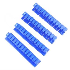 Image 3 - 4pcs הכחול רכב לא צבוע דנט תיקון פולר כרטיסיות שקעים הסרת קיט מחזיק