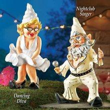 Creative White Beard Dwarf Sculpture Decoration Pastoral Simulation Resin Tabletop Statue Home Decorat Crafts Ornaments