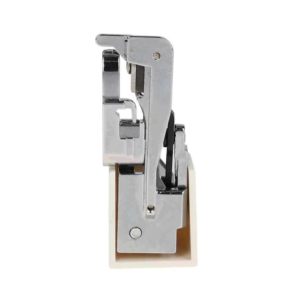 1 الجانب القاطع القدم الاوفرلوك قطعة قدم الضغط في ماكينة الخياطة متعرج زاك قدم الخياطة اكسسوارات مع سكين قفل ل الحياكة الإبر الحرفية