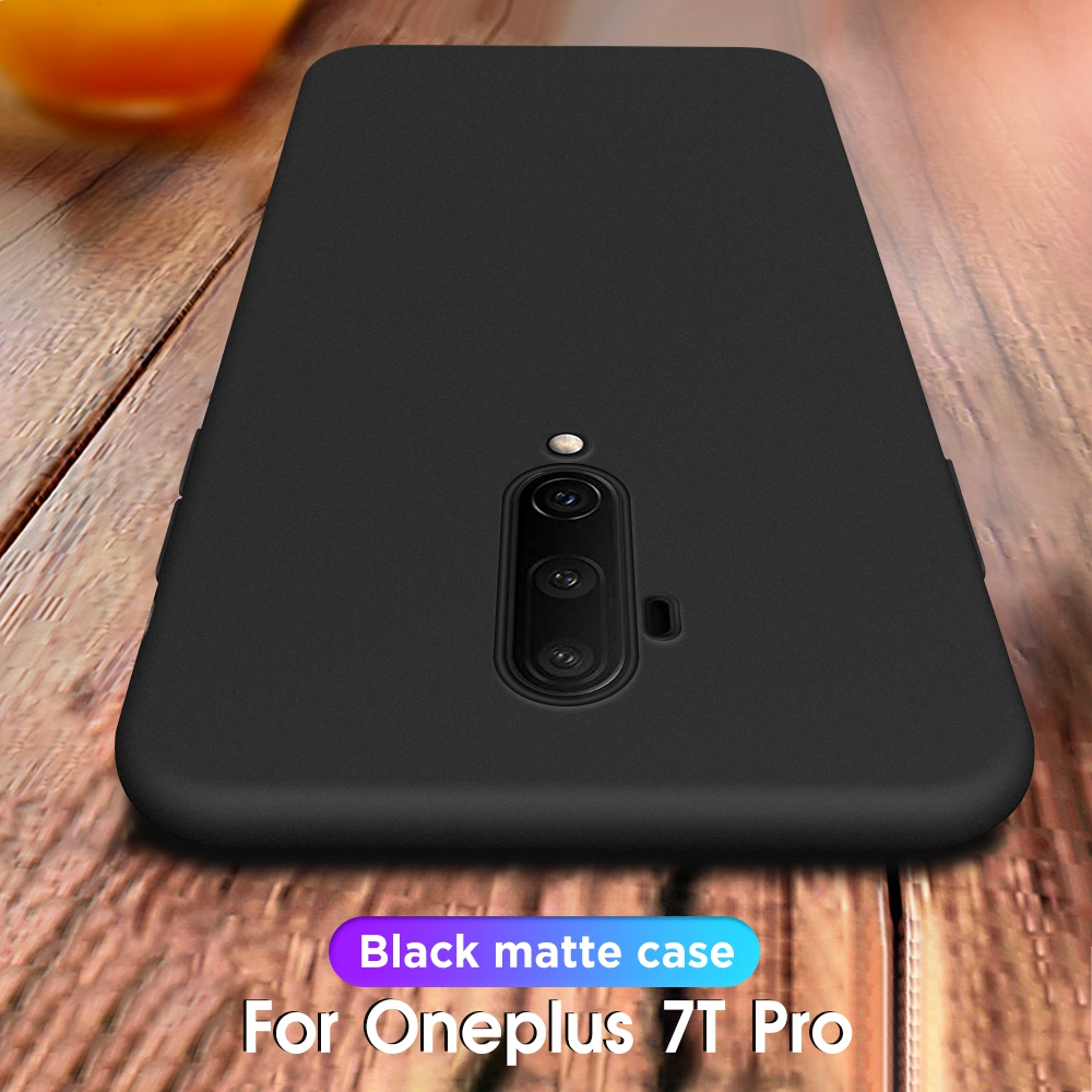 Phone <font><b>Case</b></font> On For <font><b>Oneplus</b></font> 7T Pro 7T Matte <font><b>Silicone</b></font> TPU Back Cover Fundas <font><b>Cases</b></font> For One Plus 7 7 Pro 6 6T 5 <font><b>5T</b></font> 6t 7 t Pro 7 Cover image