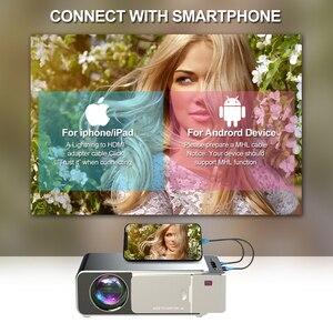 Image 4 - Vivicine V20 ucuz akıllı Video projektör, HDMI USB PC el taşınabilir Mini LED projektör için film oyunları