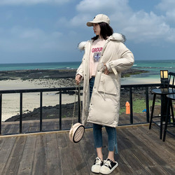 -30 Degrees Winter Women Long Parkas Jackets Plus Size M-5XL Thick Warm Big Fur Collar Female Slim Sintepon Parkas Outwear Coat 3