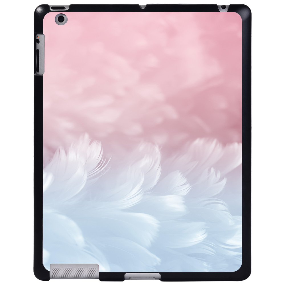 soft touch feather White For Apple iPad 8 10 2 2020 8th 8 Generation A2428 A2429 tablet PC Plastic Printed