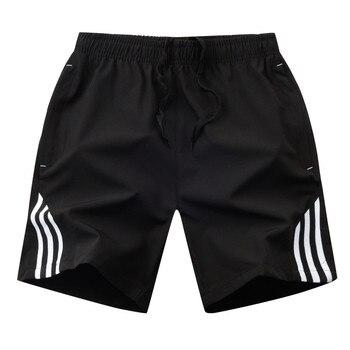 2020 Boardshorts Male Casual Fitness Striped Men's Sportswear Jogger Bodybuilding Shorts