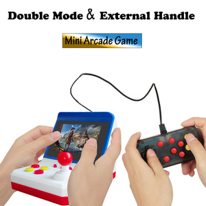 Image 1 - Mini Arcade Game Retro Machines for Kids with 600 Classic Video Games Console Home Travel Portable Gaming System Children Toys