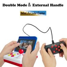 Mini juegos recreativos para niños, consola de videojuegos clásica, portátil, para viajes en casa, 600