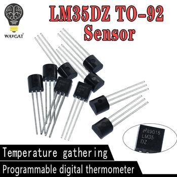 10 sztuk LM35DZ TO92 LM35 TO-92 LM35D precyzja temperatura w stopniach celsjusza czujniki tanie i dobre opinie LIZAO CN (pochodzenie) Nowy Other -40-+85 piece 0 01kg (0 02lb )