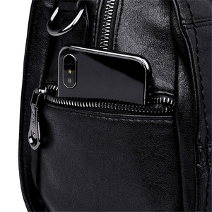 Image 5 - Genuine Leather Tassel Luxury Handbags Women Bags Designer Handbags High Quality Ladies Hand Bags For Women 2019 Bolsa Feminina