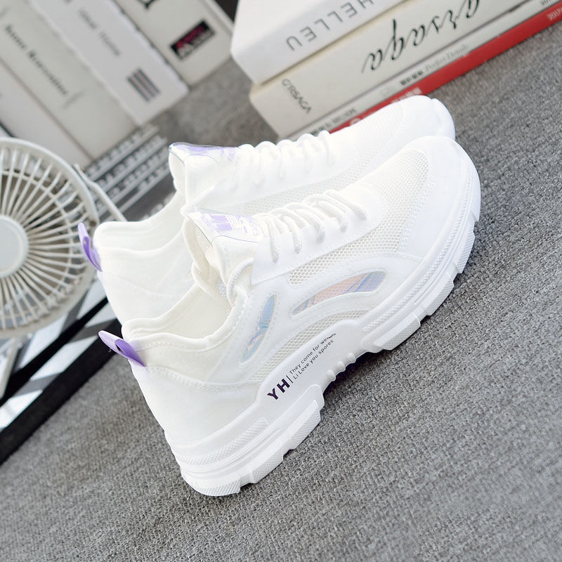 Women's Lightweight Running Shoes Summer Ultra Light Breathable Sneakers Zapatos De Mujer High Quality Girls Sports Shoes 35-39