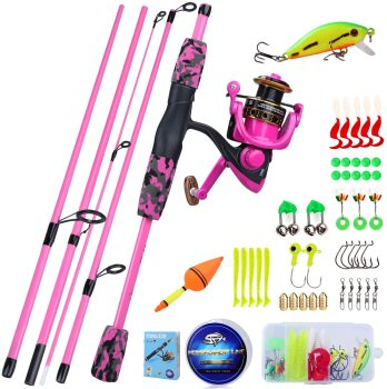 Child Fishing Rod Set Complete Tackle Pack
