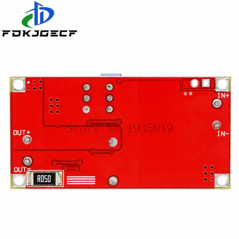 XL4015 5A DC To DC CC CV Baterai Lithium Turun Pengisian Papan Led Power Converter Lithium Charger Step Down modul XL4015E1
