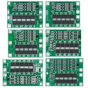 Image 1 - 3S/4S 40A 60A 리튬 이온 리튬 배터리 충전기 보호 보드 18650 BMS 드릴 모터 11.1V 12.6V/14.8V 16.8V 향상/균형