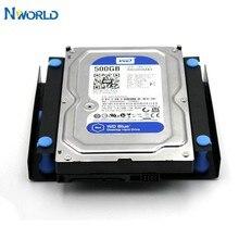 Nworld disco rígido à prova de choque 3.5 para 5.25 dvd rom baía adaptador de montagem hdd gabinete