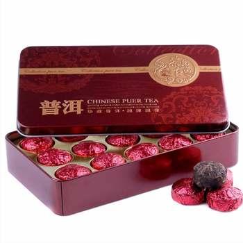 2019 Yr Rose Mini Ripe Pu-erh Tuocha, Yunnan Shu Pu-erh Pu-erh Gift Packing 75g 1